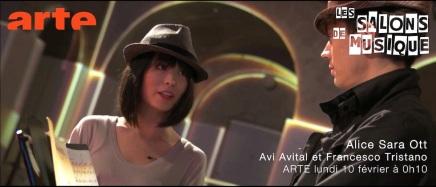 La critique TV de télérama Alice Sara Ott Salon de Musique opus17
