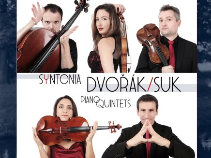 CD Ensemble Syntonia Piano Quintets Dvořák/ Suk