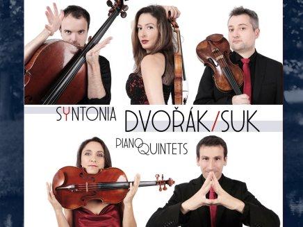 CD Ensemble Syntonia Piano Quintets Dvořák/Suk