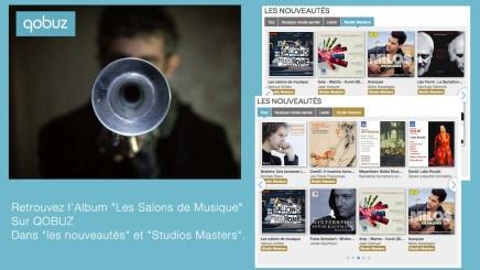 Cd «Les Salons de musique» dans la sélection deQobuz