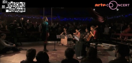 Vidéo Rosemary Standley «FIREDAY» deMoriarty